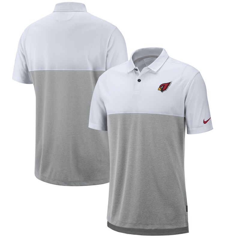 "Arizona Cardinals - Tričko s límečkem ""Early Season Performance"" - bílošedé, sideline"