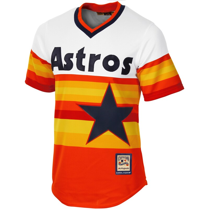 Houston Astros - Dres basebalový - oranžový, Cool Base