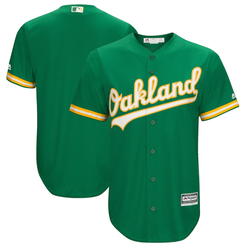 Oakland Athletics - Dres basebalový - zelený, Cool Base