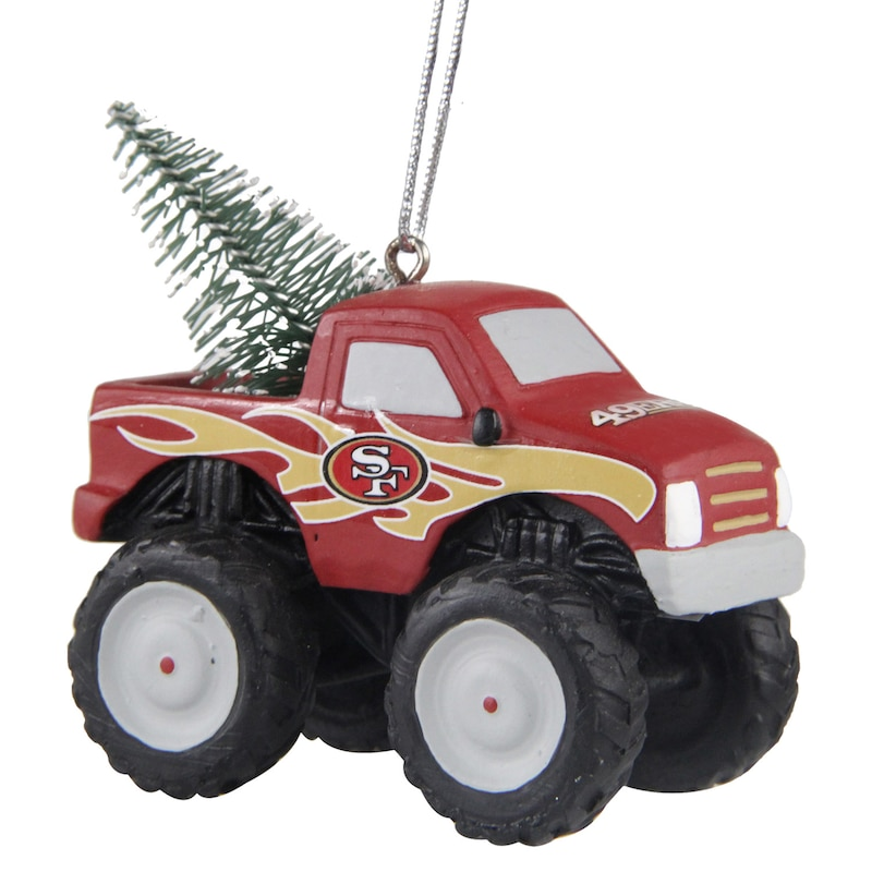 "San Francisco 49ers - Ozdoba ""Monster Truck"""