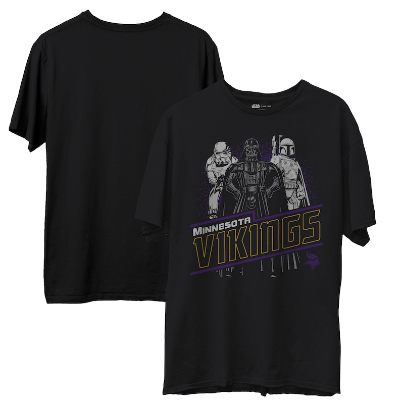 "Minnesota Vikings - Tričko ""Empire"" - Star Wars, černé"
